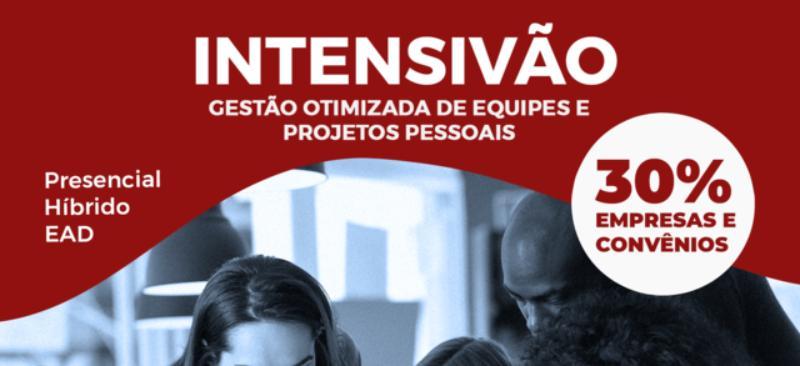 CURSO GESTÃO OTIMIZADA DE EQUIPES E PROJETOS PESSOAIS