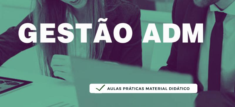 Imagem curso CURSO DE GESTÃO ADMINISTRATIVA