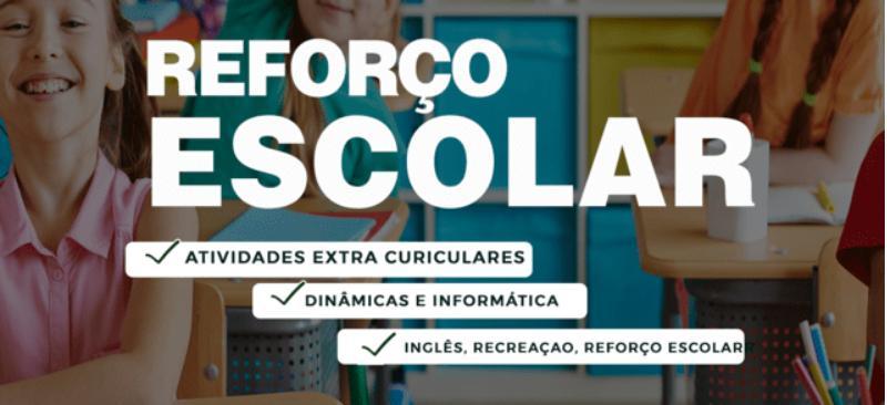 Imagem curso REFORÇO ESCOLAR 100% ONLINE - TRIMESTRAL
