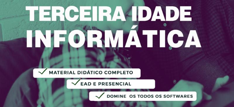 Imagem curso CURSO DE INFORMÁTICA PARA A TERCEIRA IDADE