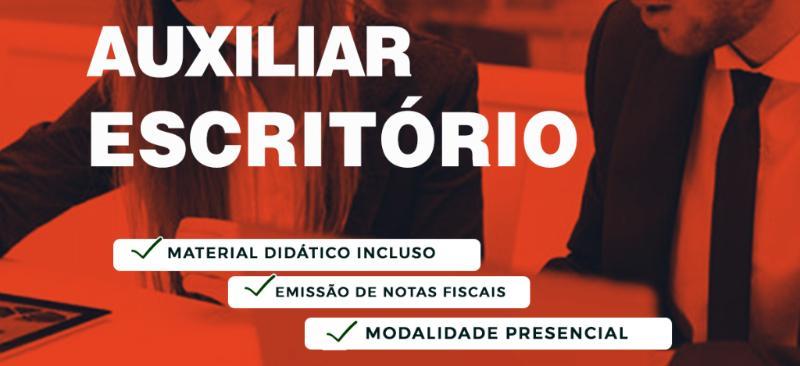 CURSO DE AUXILIAR DE ESCRITÓRIO