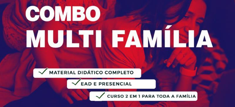 Imagem curso COMBO MULTI CURSOS FAMÍLIA - PROGRAMA FAMILIAR FACILITADO